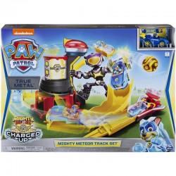 Spin Master PSI PATROL MIGHTY PUPS Charged Up ZESTAW TORÓW METEOR 6055933