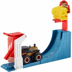 HOT WHEELS Monster Trucks Zestaw Torów BIG AIR BREAKOUT + POJAZD GCG00