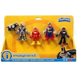 Imaginext DC Super Friends ZESTAW 5 FIGUREK FNJ21