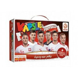 Trefl GRA KAPSLE FOOTBALL + Plakat Reprezentacji Polski 01899