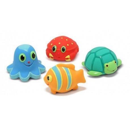 Melissa & Doug - 16435 - Zabawki do Kąpieli - Gumowe Zwierzątka