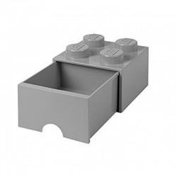 LEGO Pojemnik 4 na Zabawki z Szufladą SZARY 9494