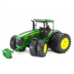 BRUDER Traktor John Deere z Podwójnymi Kołami 03052