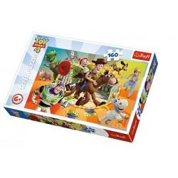 TREFL Puzzle 160 Elementów TOY STORY 4 15367