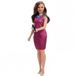 MATTEL Lalka Barbie You Can Be Anything LALKA PREZENTERKA GFX27