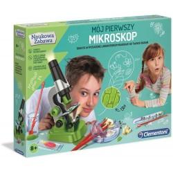CLEMENTONI Naukowa Zabawa MIKROSKOP 50071