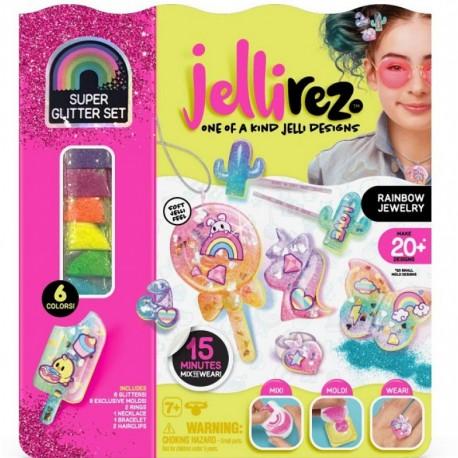 Jelli Rez Duży Zestaw do Tworzenia Biżuterii Glitter Set 10882