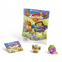 Magic Box Toys SUPER ZINGS Seria 5 SASZETKA z Dwiema Figurkami 3489