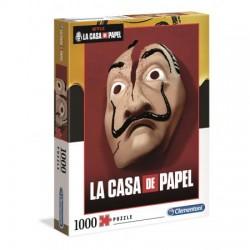 Clementoni Puzzle 1000 el. Netflix La Casa De Papel DOM Z PAPIERU 39533