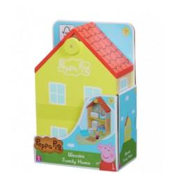 Świnka Peppa Drewniany Domek Peppy 07213
