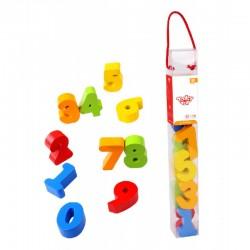 Tooky Toy Drewniane Cyferki TKC401
