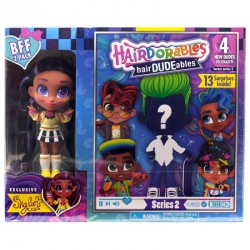 Hairdorables LALECZKA SKYLAR I CHŁOPIEC Hairdudeables 23775