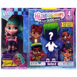 Hairdorables LALECZKA HARMONY I CHŁOPIEC Hairdudeables 23775