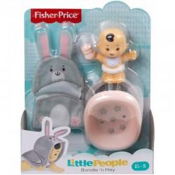 Fisher-Price Little People NIEMOWLĘ Z BASENIKIEM Królik GKY43
