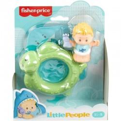 Fisher-Price Little People NIEMOWLĘ Z BASENIKIEM Żółwik GLT84