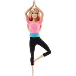 Mattel - DHL81 - DHL82 - Lalka - Barbie - Made To Move - Gimnastyczka - Blondynka