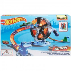 Hot Wheels Action ZAKRĘCONA OPONA GJM77
