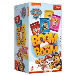 Trefl Gra Planszowa i Rodzinna Boom Boom PSI PATROL 01911