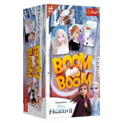 Trefl Gra Planszowa i Rodzinna Boom Boom KRAINA LODU II Frozen 01912