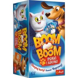 Trefl Gra Planszowa i Rodzinna Boom Boom PSIAKI I KOCIAKI 01909