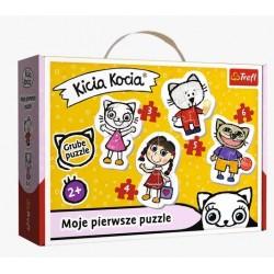 TREFL Puzzle Układanka Moje Pierwsze Puzzle WESOŁA KICIA KOCIA 36088