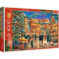 TREFL Puzzle Układanka 1000 el. Świąteczny Rynek 10554