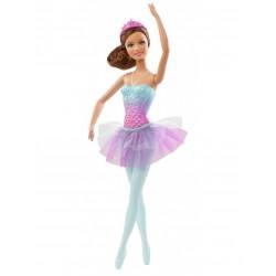 Mattel - BCP11- BCP13 - Lalka - Barbie - Świat Fantazji - Baletnica Brunetka