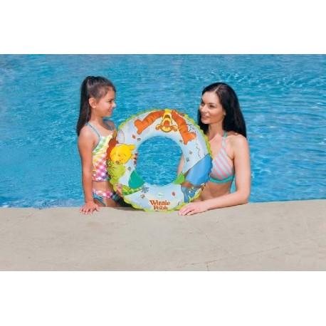 Intex - 58254 - Koło do Pływania - Kubuś Puchatek - 61 cm