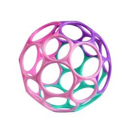 OBALL CLASSIC Piłka Dla Maluszków Fioletowo-Różowa 12289