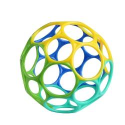 OBALL CLASSIC Piłka Dla Maluszków Niebiesko-Zielona 12288