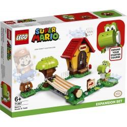 LEGO SUPER MARIO 71367 Yoshi i Dom Mario - Zestaw Uzupełniający