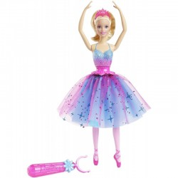 Mattel - CKB21 - Lalka - Barbie - Wirująca Baletnica - Balerina
