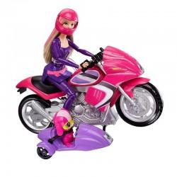 Mattel - DHF21 - Lalka - Barbie - Tajne Agentki - Motocykl Tajnej Agentki