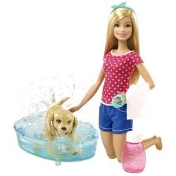 Mattel - DGY83 - Lalka - Barbie - Kąpiel Szczeniaczka - Kąpiel Pieska
