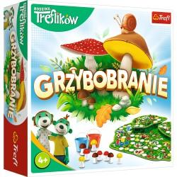 TREFL Gra Rodzinna Planszowa GRZYBOBRANIE RODZINA TREFLIKÓW 02035