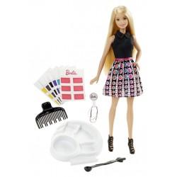 Mattel - DHL90 - Lalka - Barbie - Barbie Mix Kolorów - Farbujemy Włosy