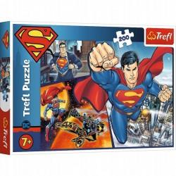 TREFL Puzzle Układanka 200 Elementów SUPERMAN 13266