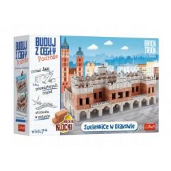 TREFL Brick Trick Buduj z Cegły Podróże SUKIENNICE W KRAKOWIE 61386