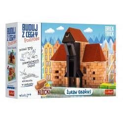 TREFL Brick Trick Buduj z Cegły Podróże ŻURAW GDAŃSKI 61385