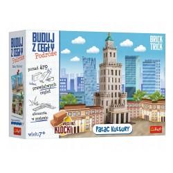 TREFL Brick Trick Buduj z Cegły Podróże PAŁAC KULTURY 61383