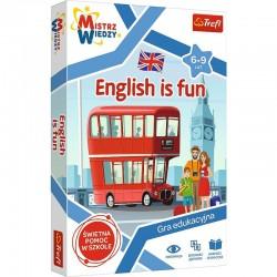 Trefl Mistrz Wiedzy Gra Edukacyjna ENGLISH IS FUN 01954