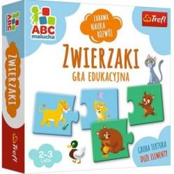 Trefl ABC Malucha Gra Edukacyjna ZWIERZAKI 01940