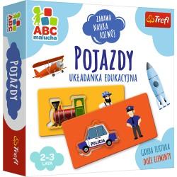 Trefl ABC Malucha Układanka Edukacyjna POJAZDY 01942