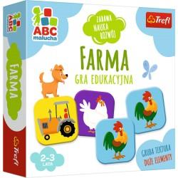 Trefl ABC Malucha Gra Edukacyjna FARMA 01944