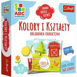 Trefl ABC Malucha Układanka Edukacyjna KOLORY I KSZTAŁTY 01939