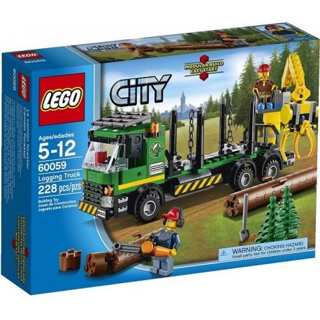 LEGO CITY 60059 Ciężarówka do Transportu Drzewa