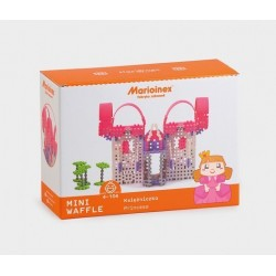 MARIOINEX Klocki Mini Wafle Duży Zestaw Konstrukcyjny KSIĘŻNICZKA 153 el. 90250