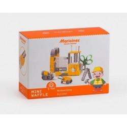 MARIOINEX Klocki Mini Wafle Duży Zestaw Konstrukcyjny BUDOWNICZY 144 el. 90259