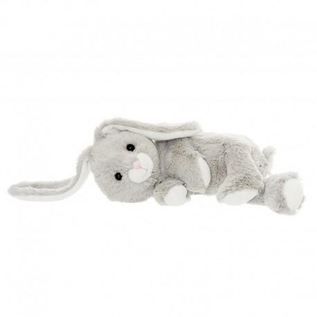 Teddykompaniet - 2481 - Maskotka Pluszowa - Zając 30 cm - Sleepies - Zajączek do Snu