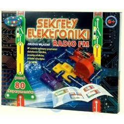 Dromader SEKRETY ELEKTRONIKI 80 Eksperymentów Radio FM 9568